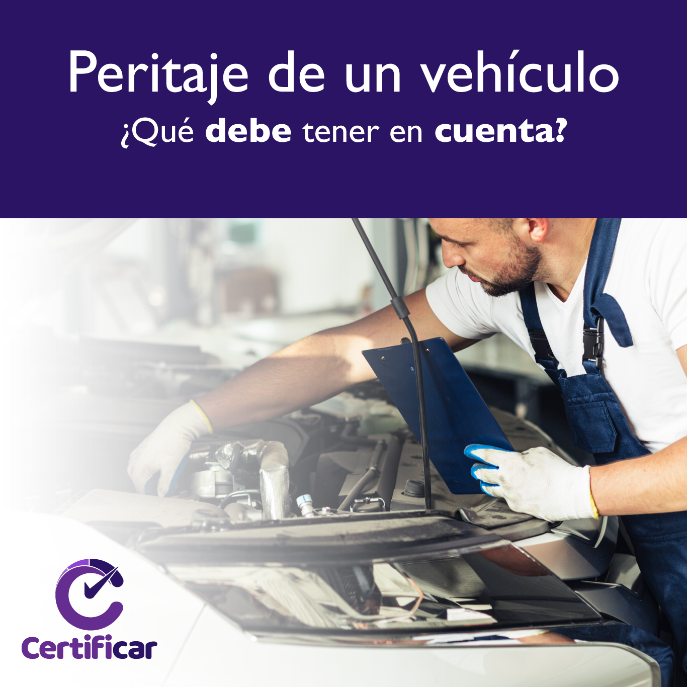 Peritaje vehiculo usado Certificar